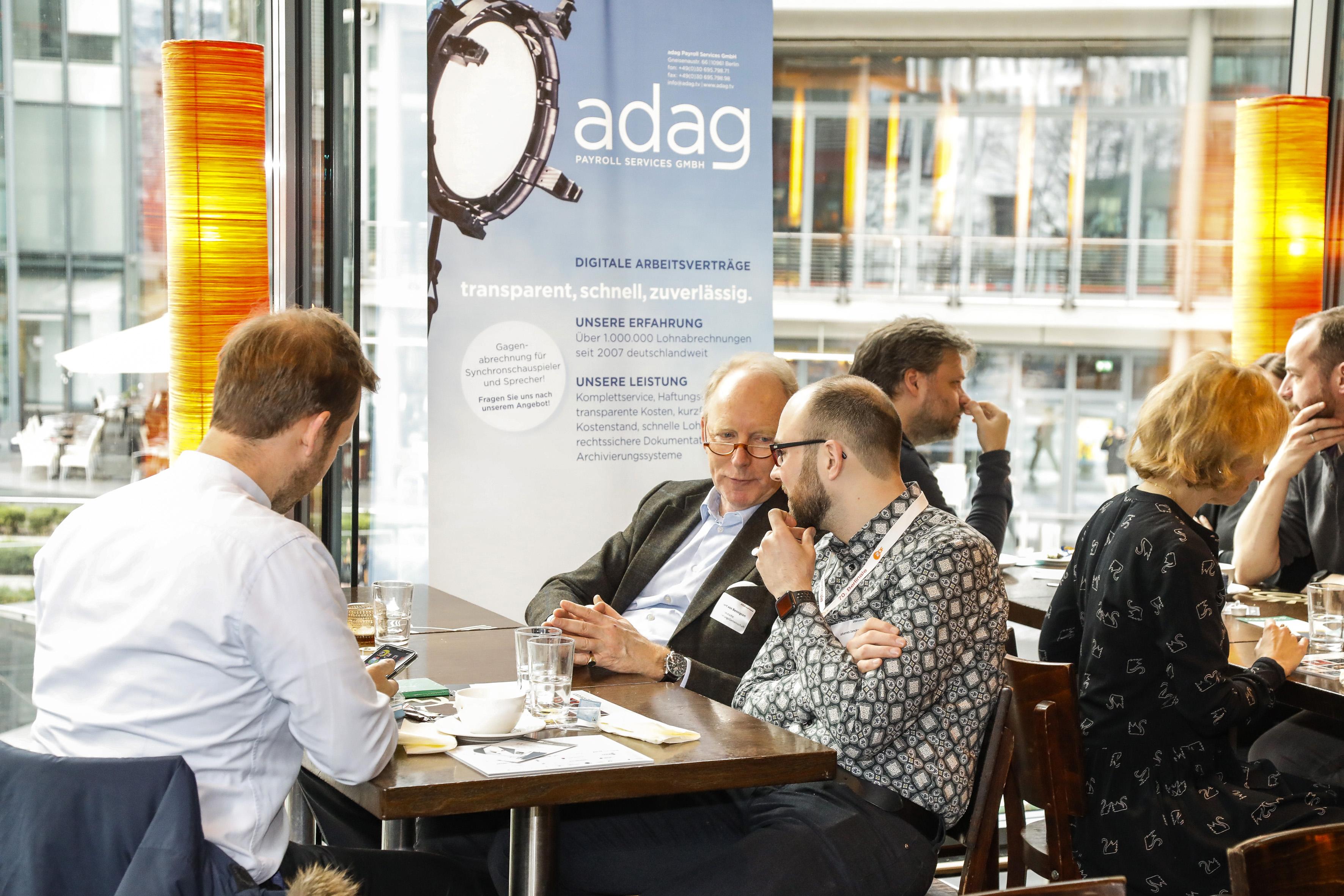Networking auf der Berlinale 2020 © International Film Partners/Kurt Krieger