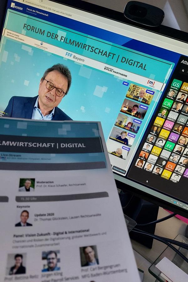 Konferenz Digital: Für die Durchführung der Veranstaltung nutzten wir die Plattform Airmeet. Diese wird auch auf kommenden Forum Media bzw. Ensider Events eine Rolle spielen. Foto © Forum Media